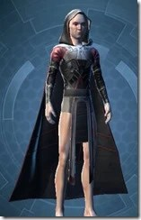 Masterwork Ancient Force-Master's Robe