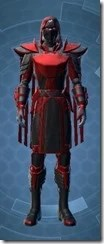 Sinister Warden Male Front