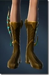 Aggressive Treatment Female Boots