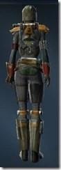 Apex Predator Female Rear