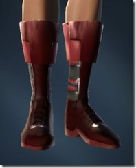 Boots of Dire Retaliation - Female