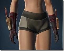 Decelerator's Gauntlets - Female