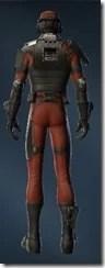 Tactician Male Rear