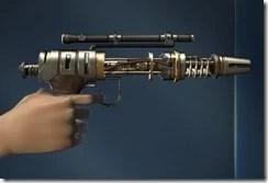 Unshielded Blaster Pistol Right