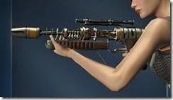 Unshielded Blaster Rifle Side