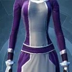Dark Purple and White Dye ModuleDye Module