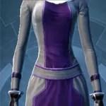 Light Gray and Dark Purple Dye ModuleDye Module