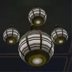 Massassi Ceiling Light