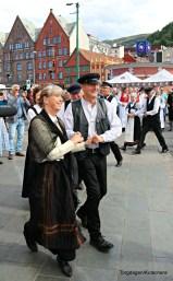 Dansestopp ved Rundetårnet på Torget