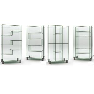 Стеклянный шкаф витрина