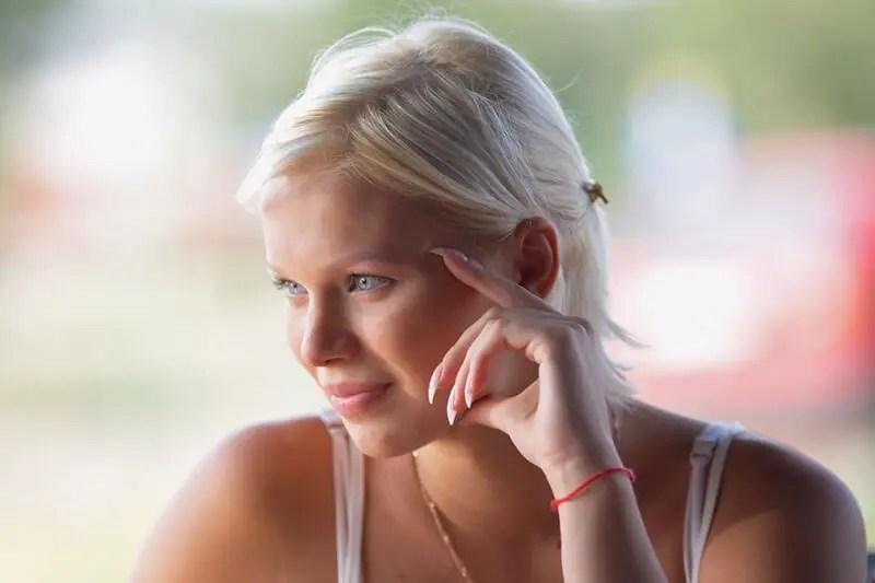 ラトビアの美女