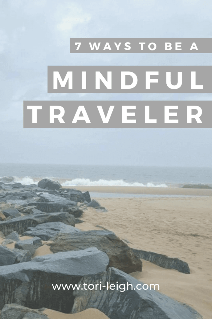 how to travel mindfully