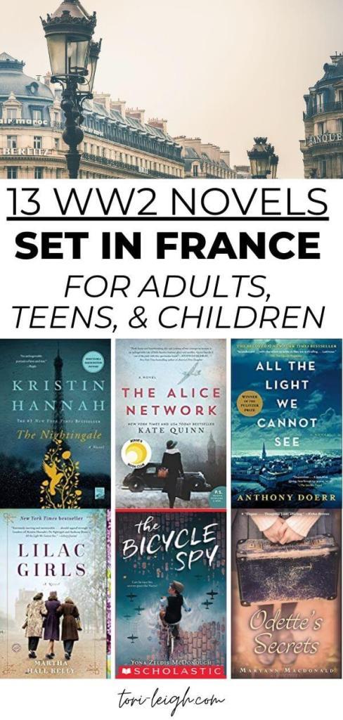 WWII novels set in France