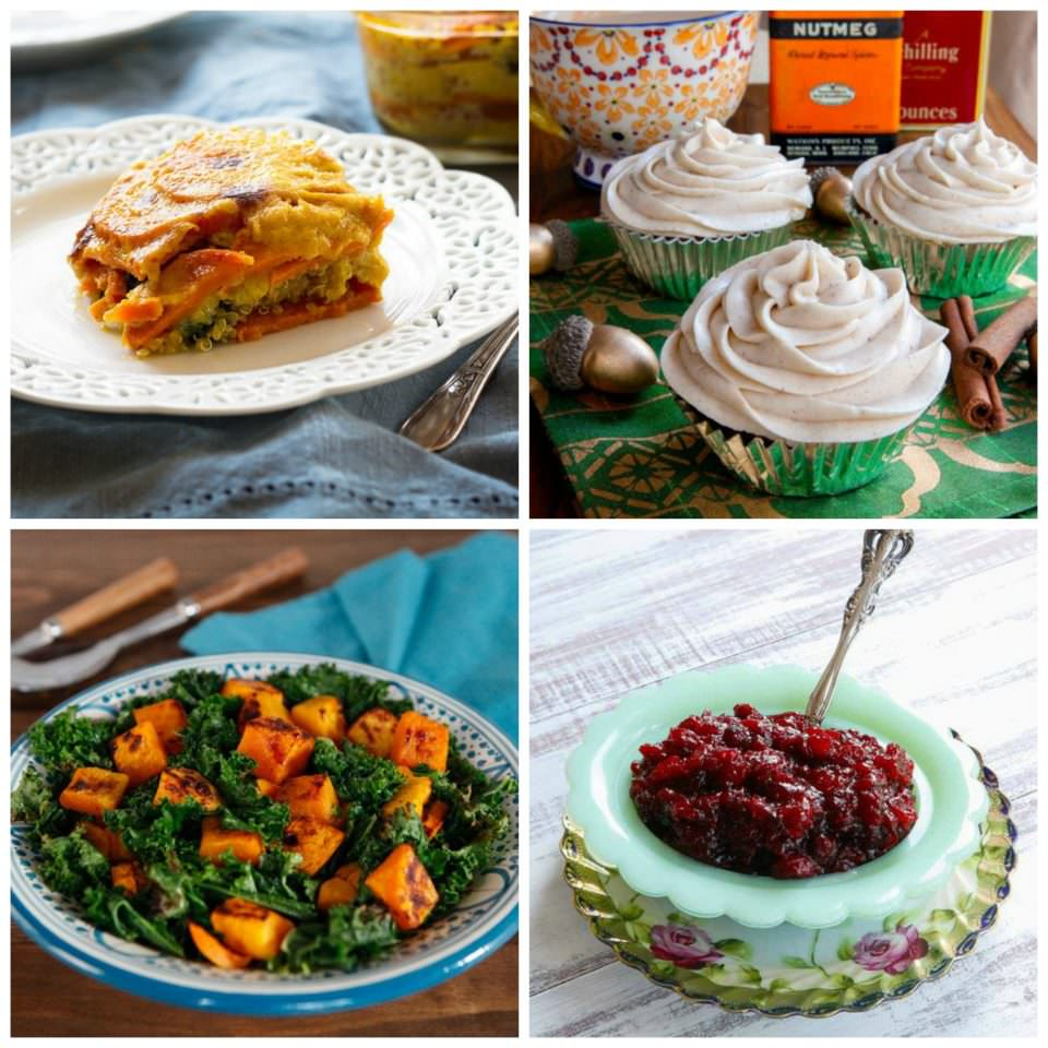 Vegan and Vegetarian Thanksgiving Recipe Ideas on ToriAvey.com