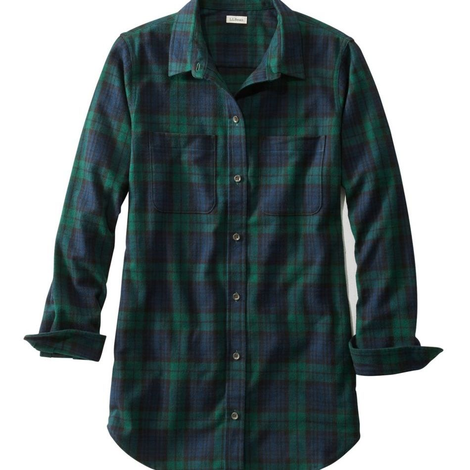 Women's Scotch Flannel Shirt Tunic