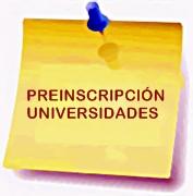 PREINSCIPCION UNIVERSIDAD