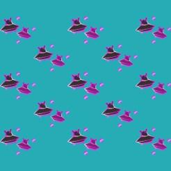 pink-foils-space-ship