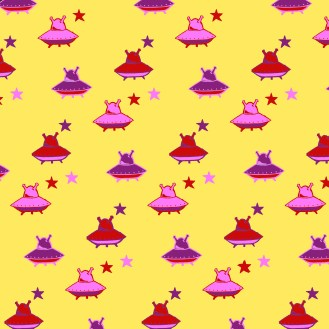 star-and-spaceship-pink-and-yellow-colours