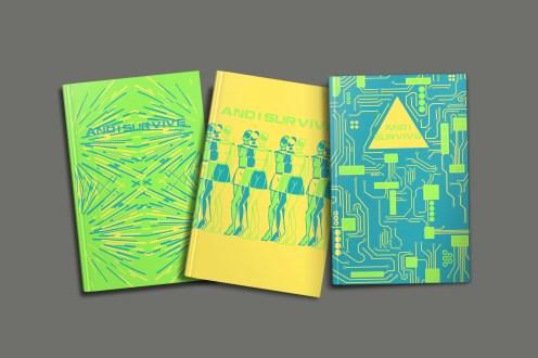 triple book colourway Y B G
