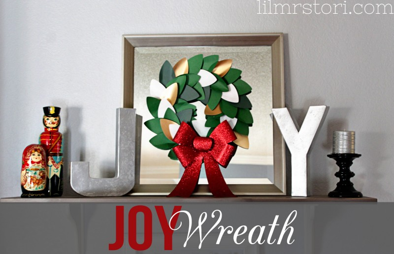 Joy Wreath Sign | Lil Mrs Tori