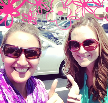 The day I met Lauren from The Thinking Closet | Food & Hobby Lobby! Oh! What Fun!