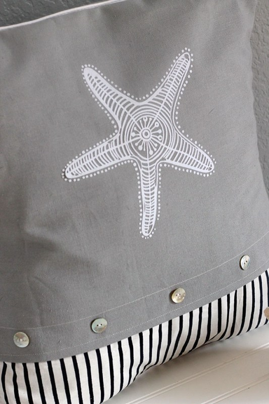 Make your own starfish pillow