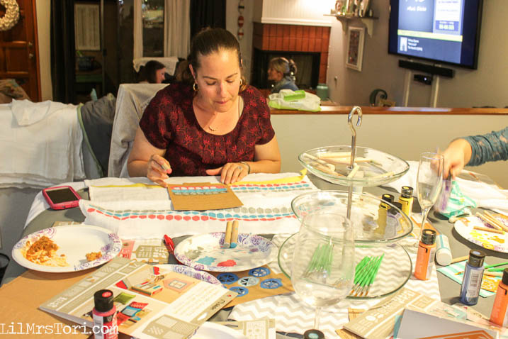 Throwing a craft party