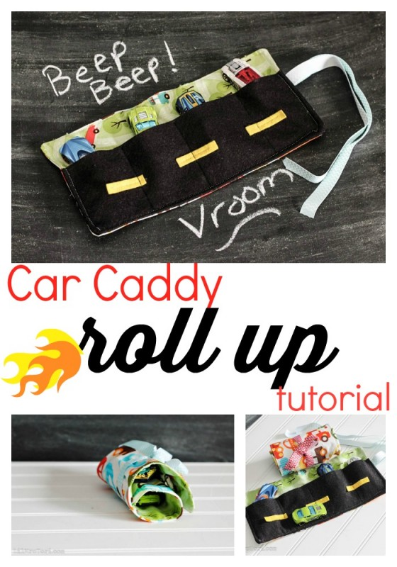 Make A Car Caddy - Lil Mrs Tori
