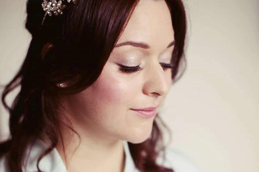 Hertfordshire wedding hair and makeup by Tori Harris