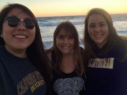 Picnic in Malibu with Charmaine and Allie