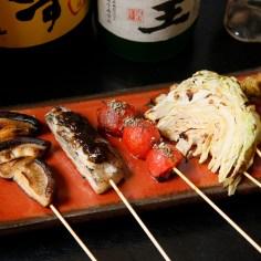 野菜串は他にはない味付け