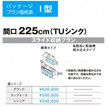 クリナップラクエラパッケージ価格表
