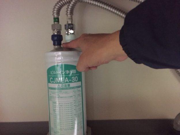 クリナップ 浄水器カートリッジ 交換方法⑩