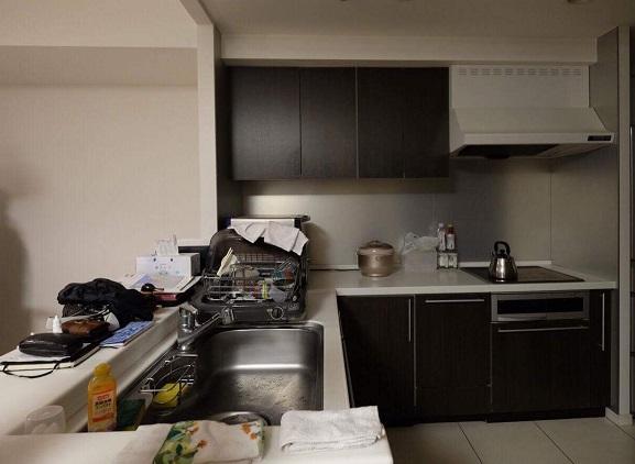 システムキッチン ステンレス キッチン組立施工③