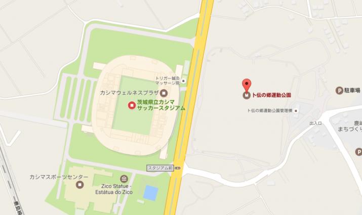卜伝の郷運動公園多目的球技場