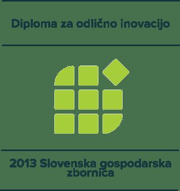 Diploma za odlično inovacijo - 2013 Slovenska gospodarska zbornica