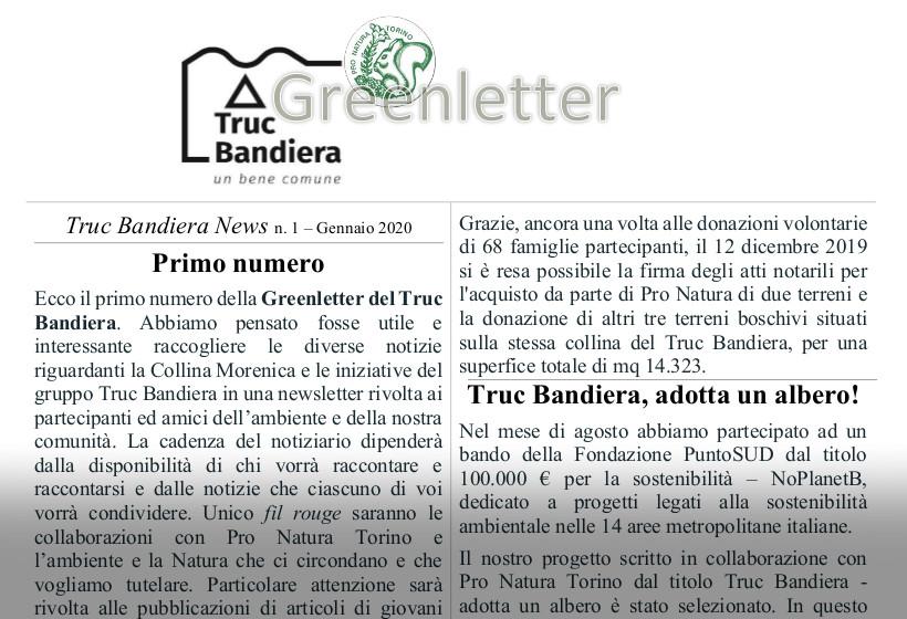 La Greenletter sul Truc Bandiera