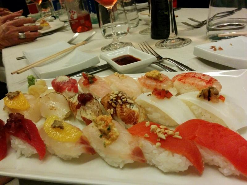 おすすめシチリア料理レストラン「Oinos」で食べたいシチリア風お寿司。絶品スシリアーノ♪