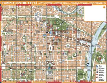 トリノ地図
