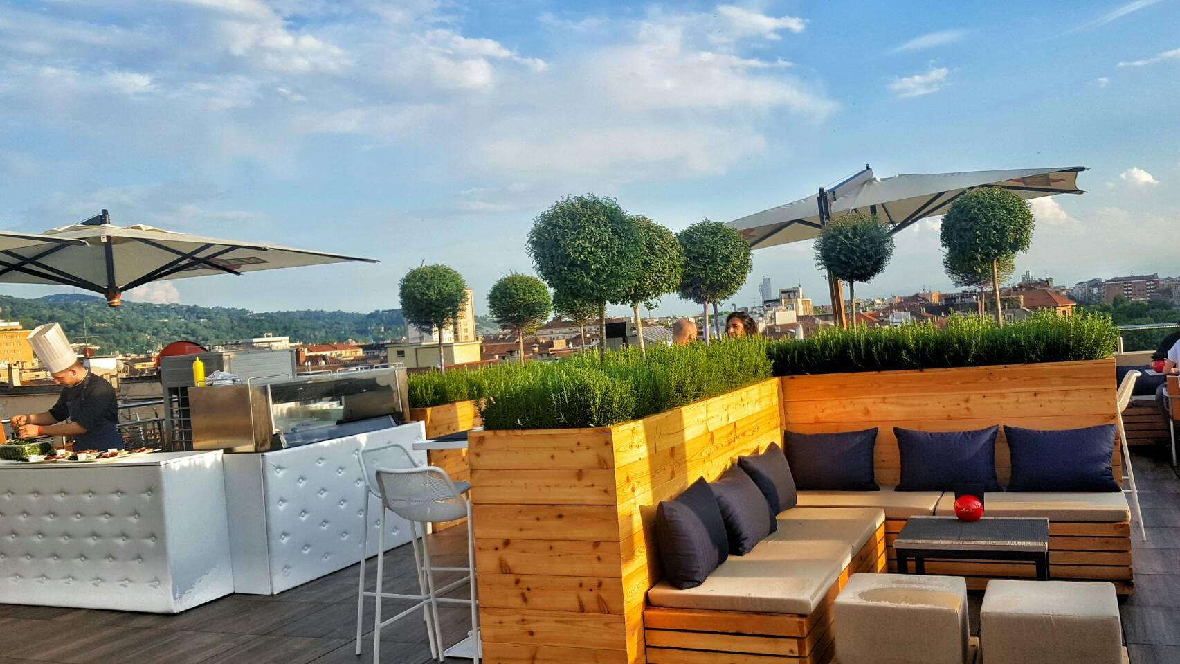 トリノの景色が一望できる!おすすめモダンなルーフトップバー&ラウンジ