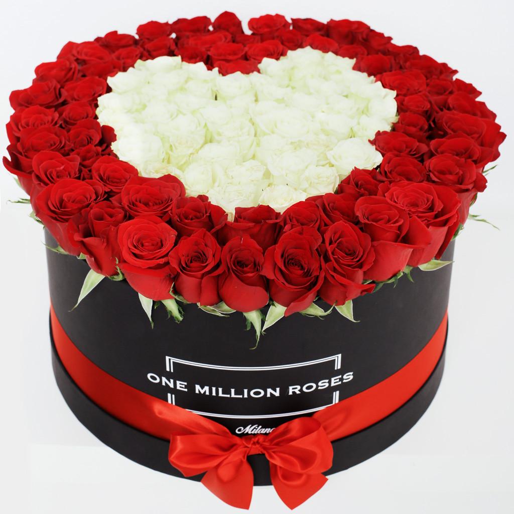 ミラノで大人気♡ロマンチックなフラワーボックスOne Million Rosesで最高のサプライズを!