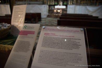 Torino, la cupola restaurata della Chiesa della Trinità.-6679