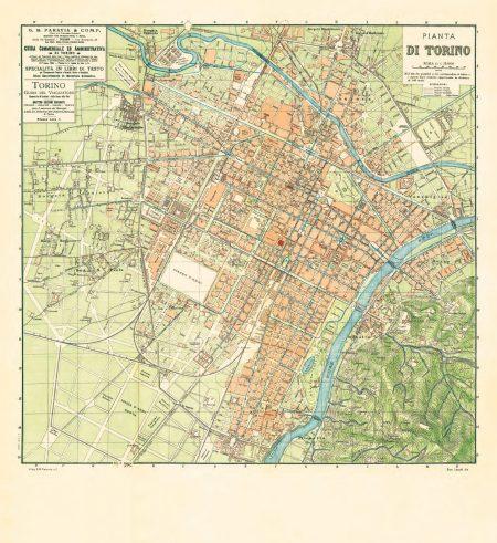 La Mappa Cinta Daziaria 1906_2