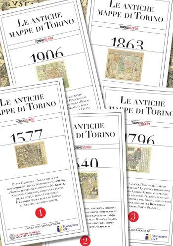 La collezione di mappe storiche di Torino