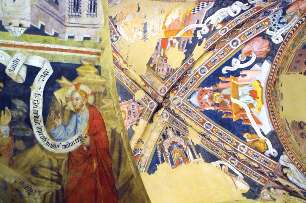 Particolare della cappella Gallieri