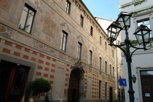 Palazzo Scaglia di Verrua, facciata