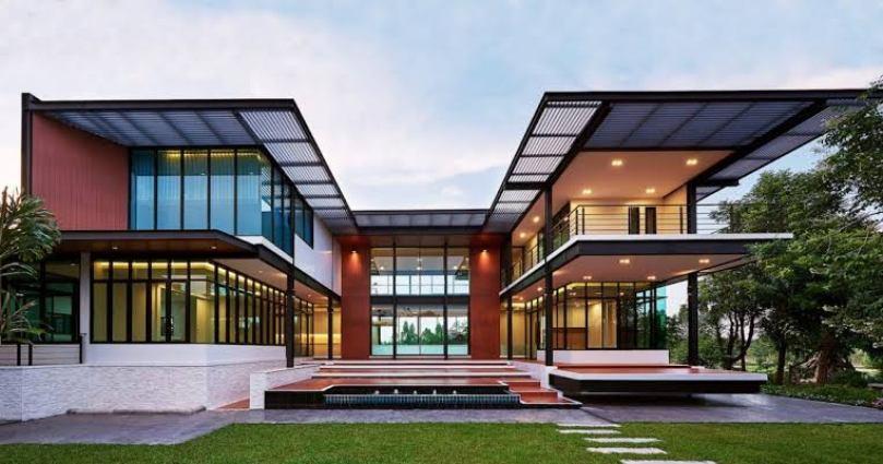Desain Rumah Modern Arsitektur Glass House
