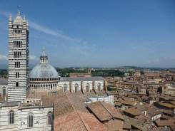 Panorama dal Facciatone, Siena
