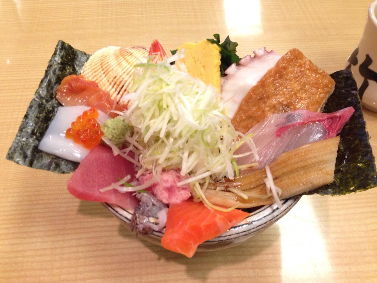玉造温泉でランチするなら島根No.1の海鮮丼を!若竹寿司(島根県松江市)