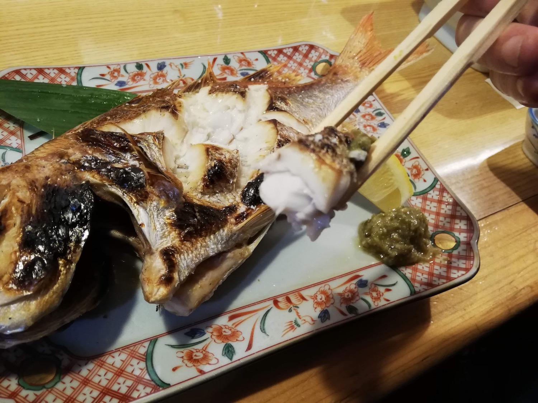 人生最高の焼き魚に出会った!玉造温泉の居酒屋「龍頭」は魚料理がオススメ